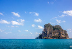 Island2. Lonly island sunny day in andaman sea Royalty Free Stock Photography