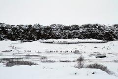 Island lopp Arkivfoto
