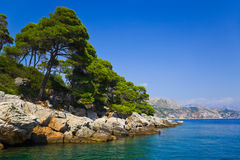 Island Lopud in Croatia Stock Image