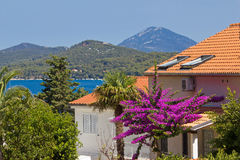 Island of Losinj sea and landscape Stock Images