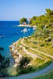 Island of Losinj tourist destination coast Royalty Free Stock Photo