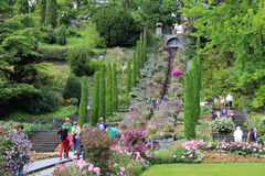 Island of Mainau Stock Photography