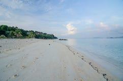 island maldivian Стоковое Изображение