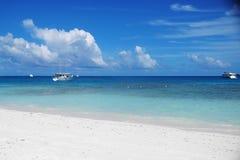island maldivian Arkivbilder