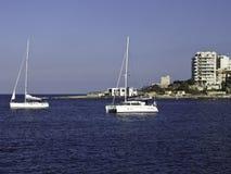 Island of Malta. The Island of Malta in the mediterranean sea Stock Photo
