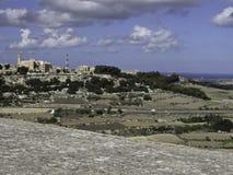 Island of Malta. The Island of Malta in the mediterranean sea Stock Image