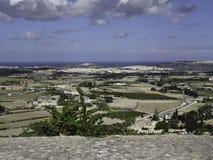 Island of Malta. The Island of Malta in the mediterranean sea Stock Images