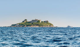 Island Mamula in Montenegro Stock Photos