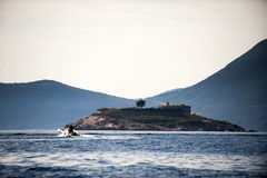 Island Mamula Stock Photography