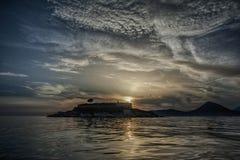 Island Mamula Royalty Free Stock Image