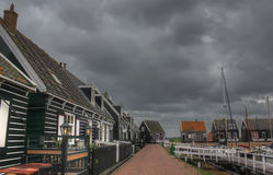 The island of Marken, Holland, Netherlands Royalty Free Stock Images