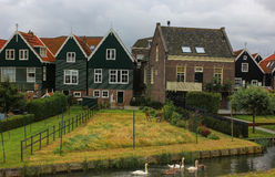 The island of Marken, Holland, Netherlands Stock Photography