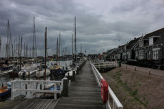 The island of Marken, Holland, Netherlands Royalty Free Stock Image