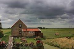 The island of Marken, Holland, Netherlands Stock Image