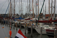 The island of Marken, Holland, Netherlands Royalty Free Stock Photos