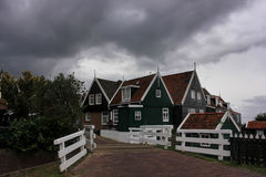 The island of Marken, Holland, Netherlands Stock Images