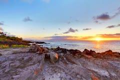 Free Island Maui Cliff Coast Line With Ocean. Hawaii. Royalty Free Stock Photo - 27600355