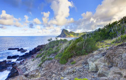 Free Island Maui Cliff Coast Line With Ocean. Hawaii. Stock Photo - 27600390