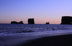 Island-Meer Lizenzfreies Stockbild