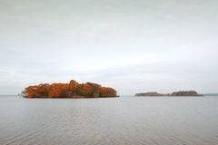 Island melancholic autumn Stock Images