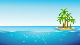 An island Royalty Free Stock Photography