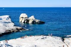 The island of Milos royalty free stock image