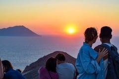 The island of Milos stock image