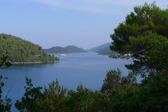 Island Mljet. The bay near the town of Pola?e on island Mljet, Croatia, Europe Stock Photo