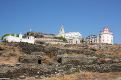 Island Monastery Royalty Free Stock Photos