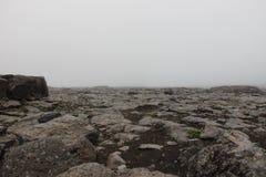 Island-Mond Lizenzfreie Stockfotografie