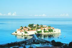 Island in Montenegro Royalty Free Stock Photo