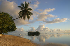 Island Moorea Royalty Free Stock Photo