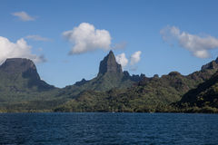 Island of Moorea in French Polynesia Royalty Free Stock Photography