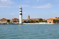 Island of Murano in Italy, Venice Royalty Free Stock Images