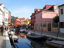 Island of Murano Stock Photography