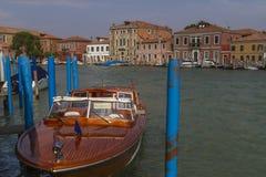 Island of Murano in Venice, Italy Royalty Free Stock Photo