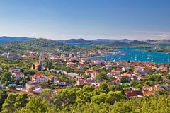 Island Murter and Kornati archipelago Royalty Free Stock Photo