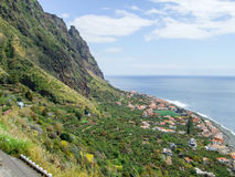 Island named Madeira Royalty Free Stock Images