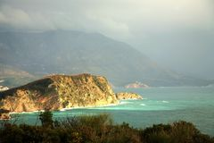 Island near Budva – Montenegro Royalty Free Stock Photo