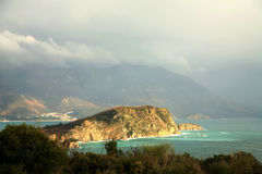 Island near Budva – Montenegro Royalty Free Stock Images