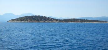 Island near Crete, Greece Royalty Free Stock Photos
