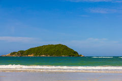 Island near Nangram beach , Thailand Royalty Free Stock Photos