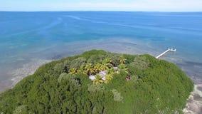 An island near Overseas Hwy stock footage
