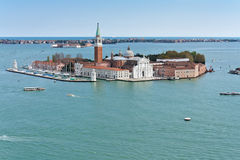 Island near San Marco. Island near famous Venice place called piazza San Marco, Italy Royalty Free Stock Images