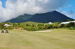 The island of Nevis Royalty Free Stock Photography