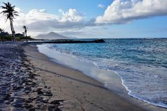 The island of Nevis Royalty Free Stock Photos