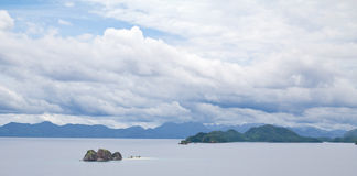 Island-with-no-Trees, Palawan, Philippines Stock Photos