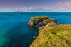 Island of North Ireland Royalty Free Stock Images
