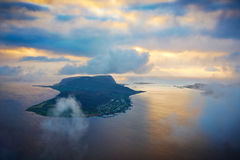 Island in norway Stock Photography