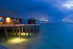 Island in ocean, Maldives Royalty Free Stock Image